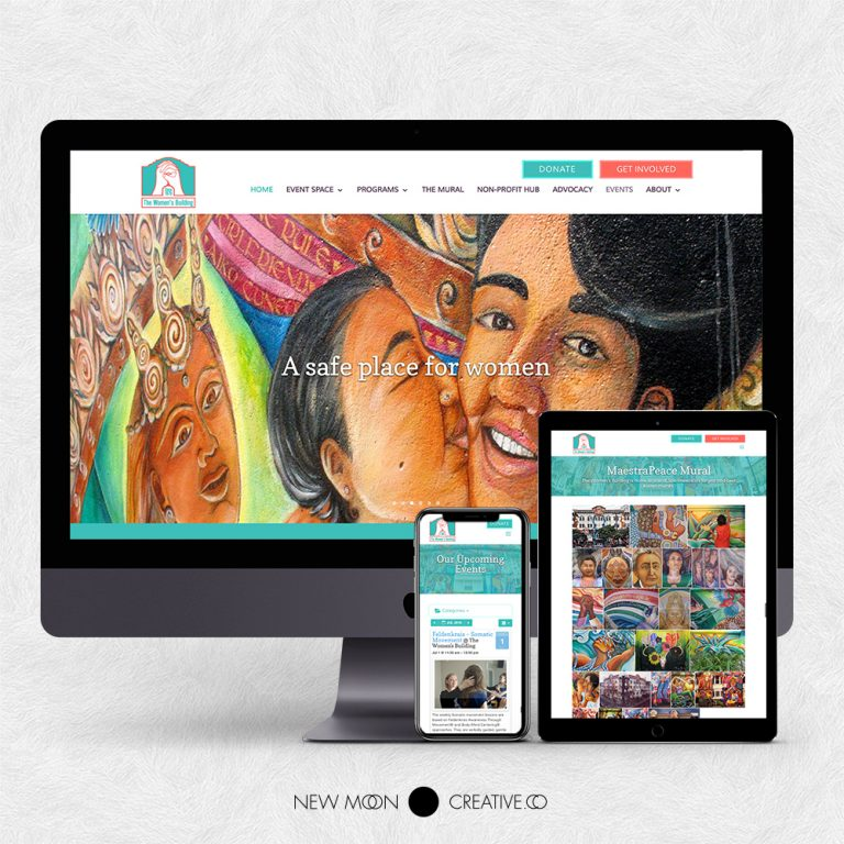 The Women's Building Nonprofit Website Design