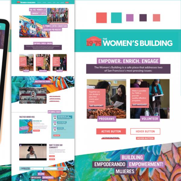 The Women's Building Nonprofit Website Design