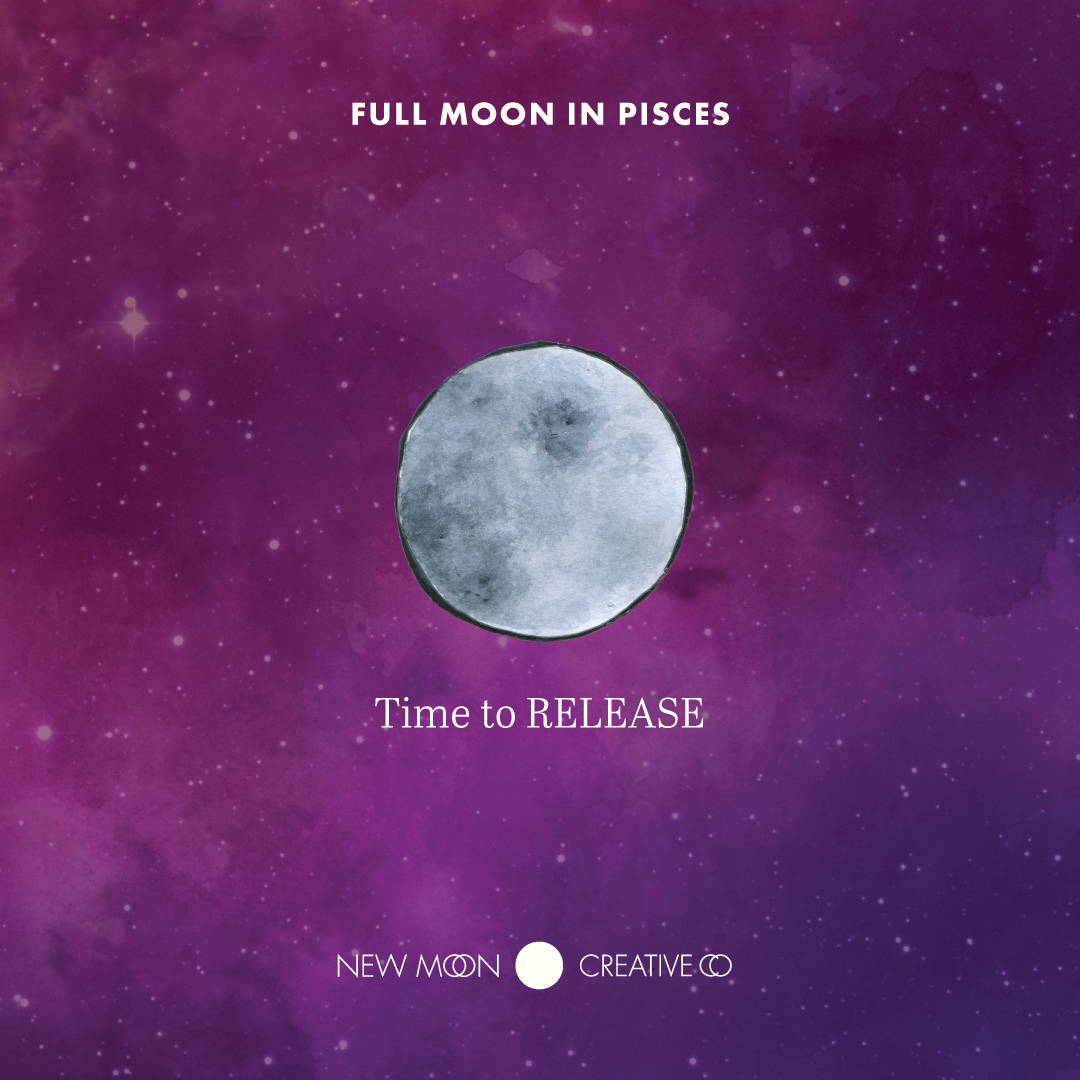 What do you have to release? Full 🌕 moon in Pisces