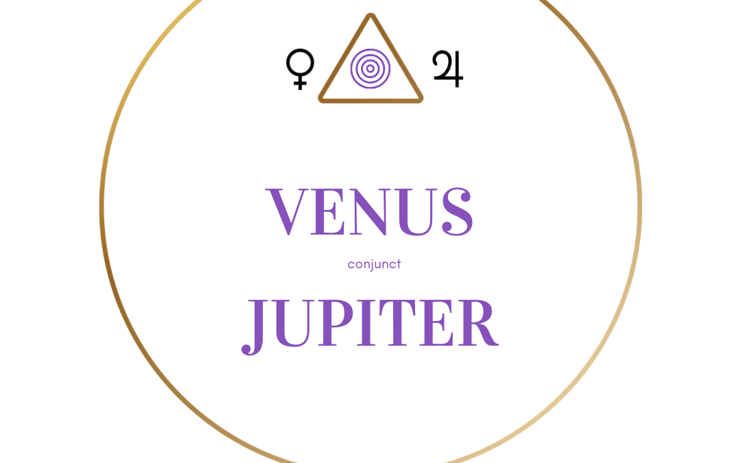 Venus conjunct Jupiter