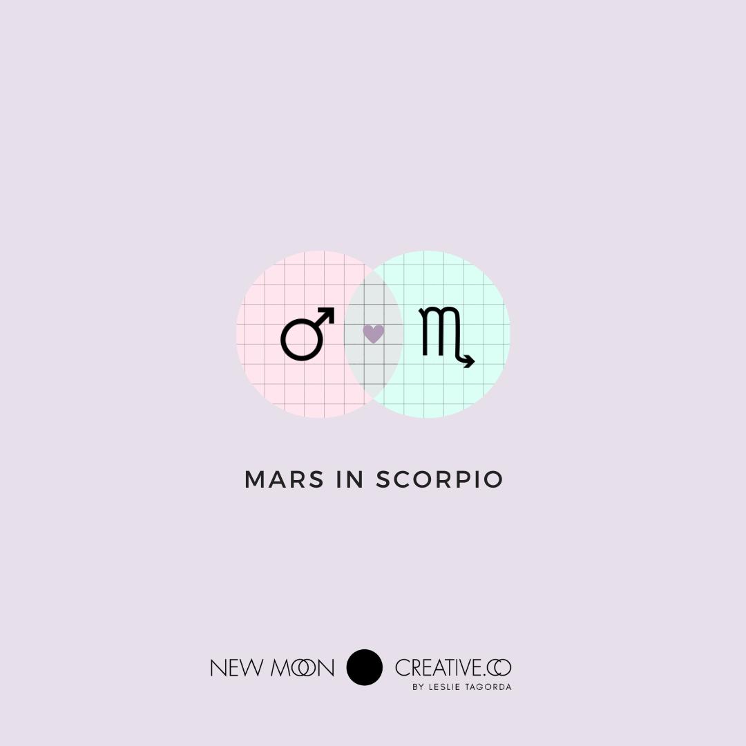 Mars in Scorpio asks…