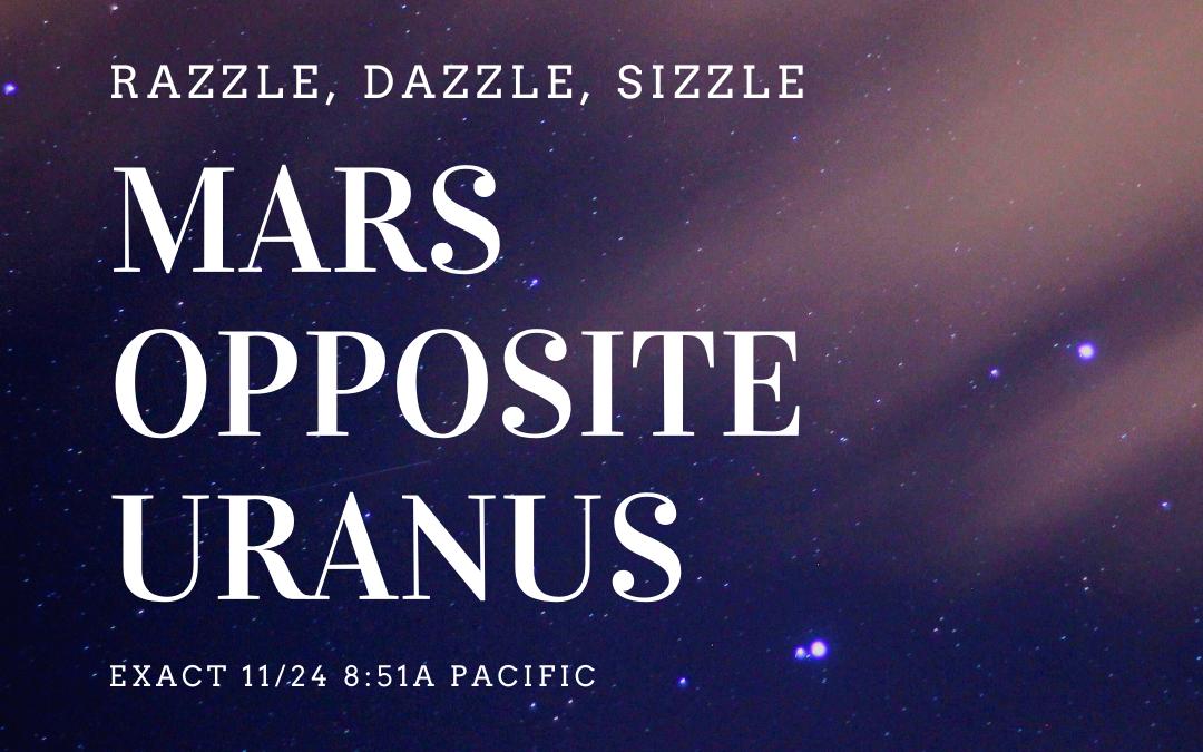 Mars Opposite Uranus
