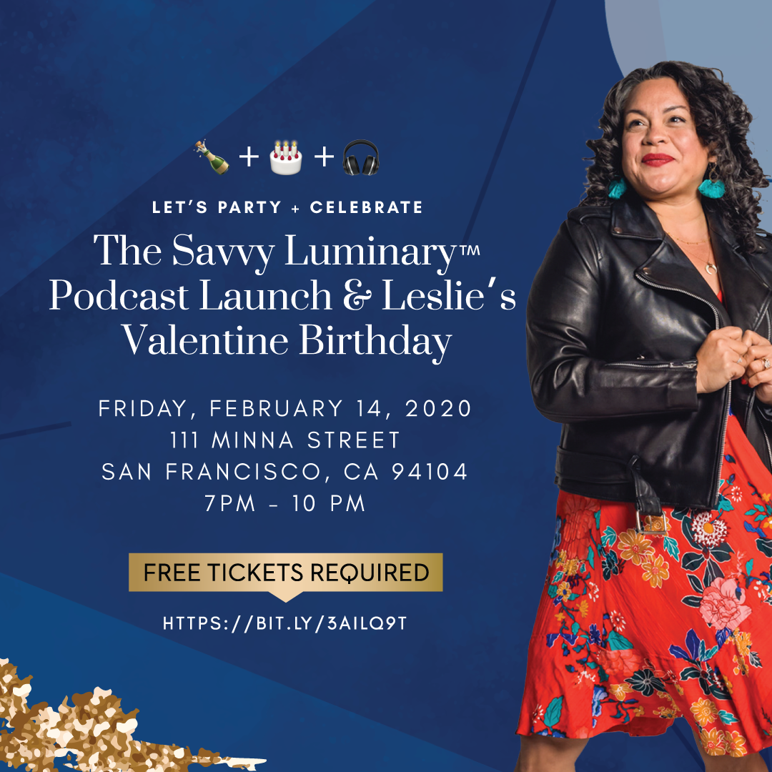 The Savvy Luminary Podcast Launch Party Highlights