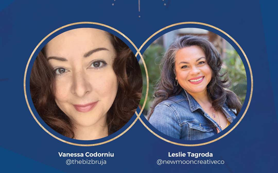 Episode 34: New Moon in Virgo + How Vanessa  Codorniu – The Biz Bruja stopped hiding and started sharing
