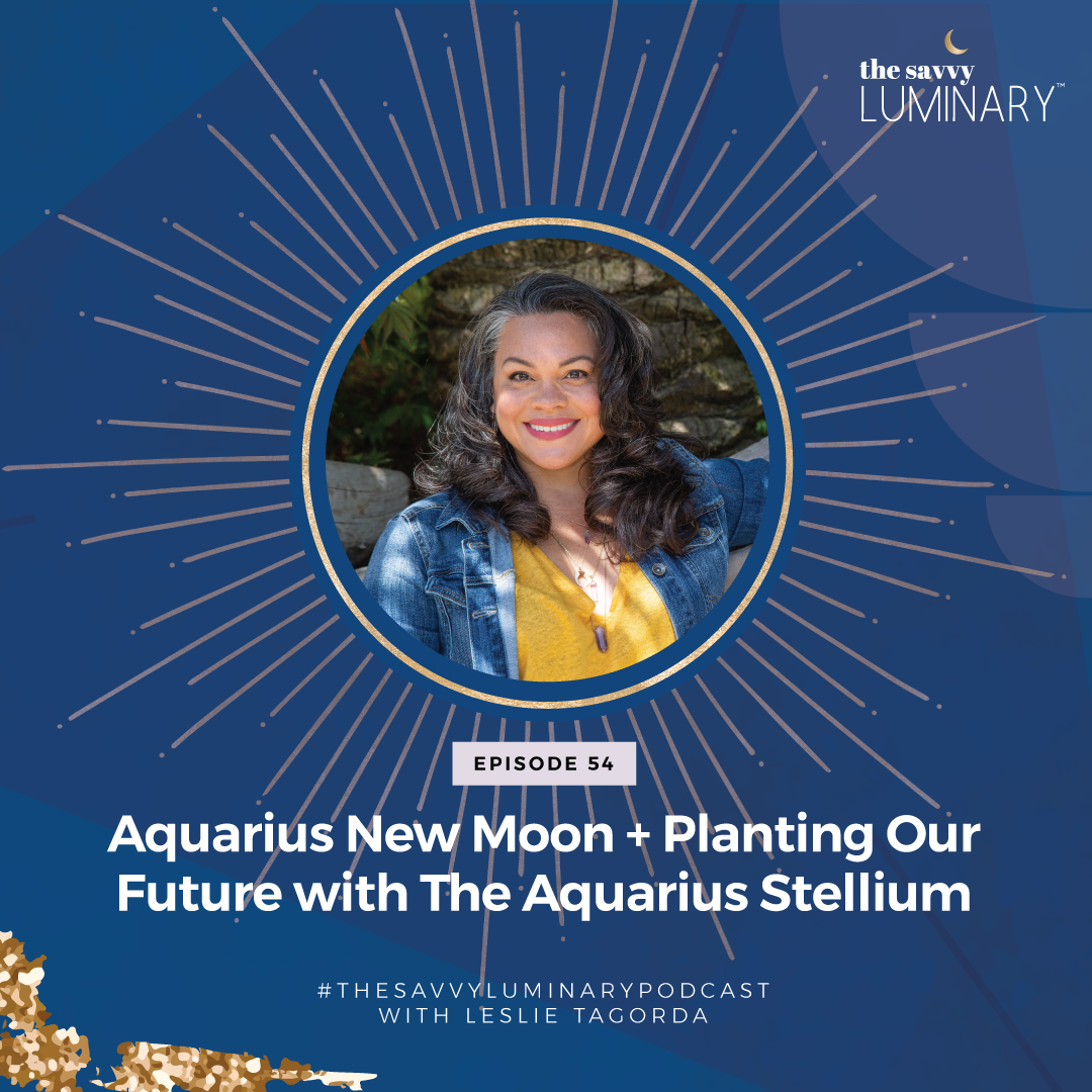 Episode 54: Aquarius New Moon + Planting Our Future with The Aquarius Stellium